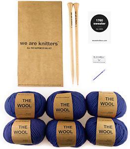 1760 sweater knitting kit
