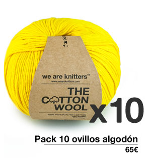 Pack 10 ovillos algodón